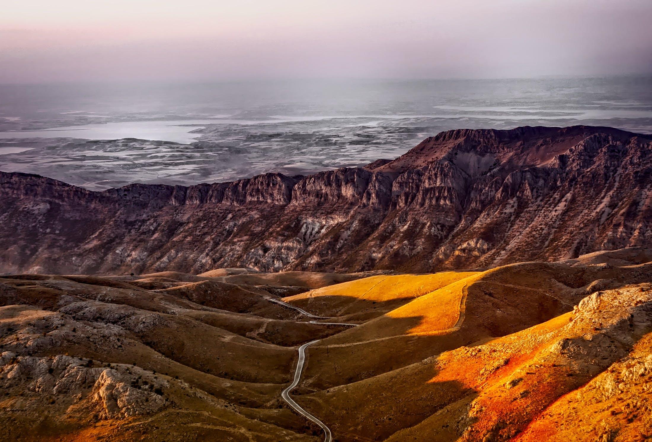 ドライ, 不毛, 乾燥, 山の無料の写真素材