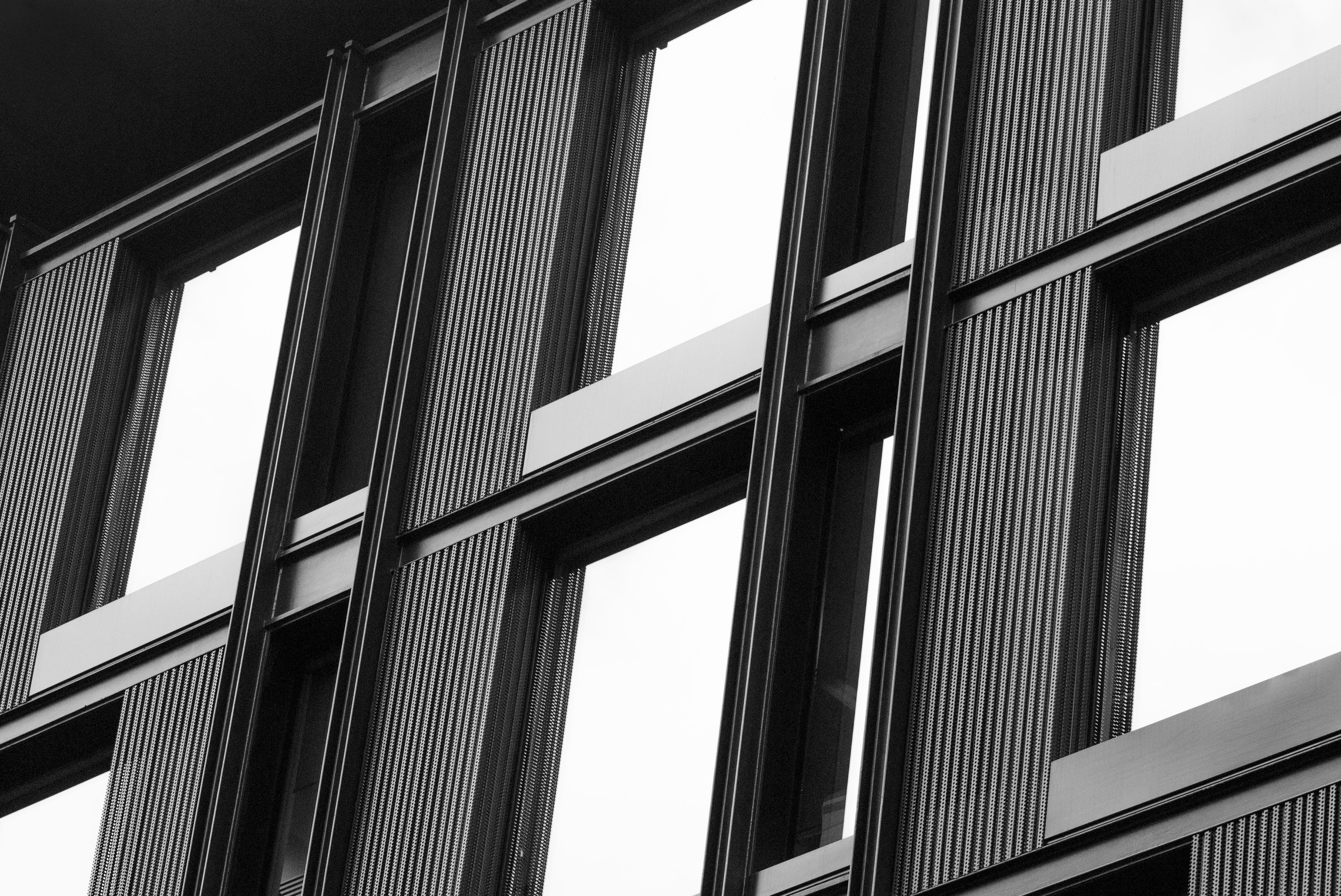 Free stock photo of architecture, black, black-and-white, building