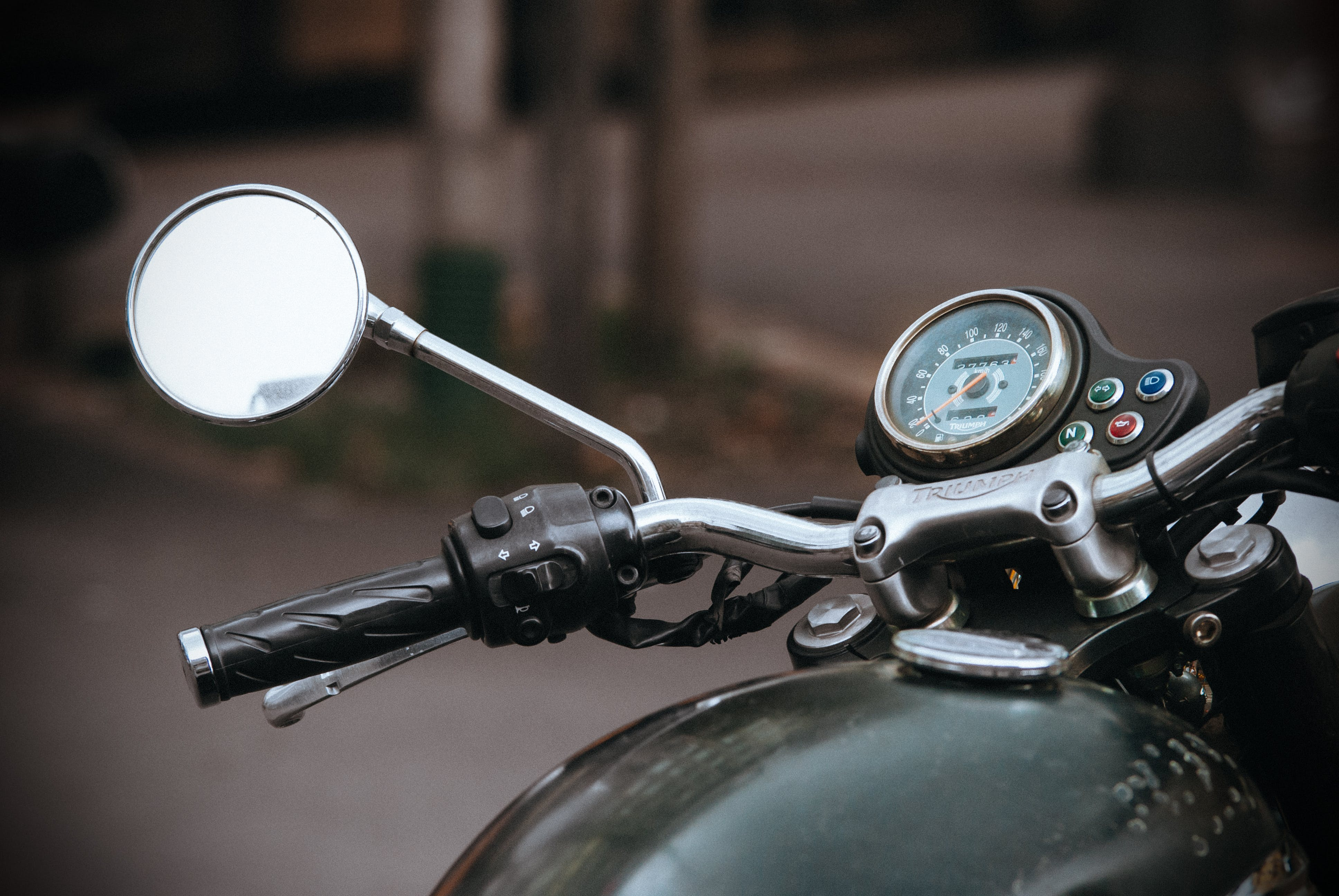 Free stock photo of dashboard, mirror, motorbike, motorcycle