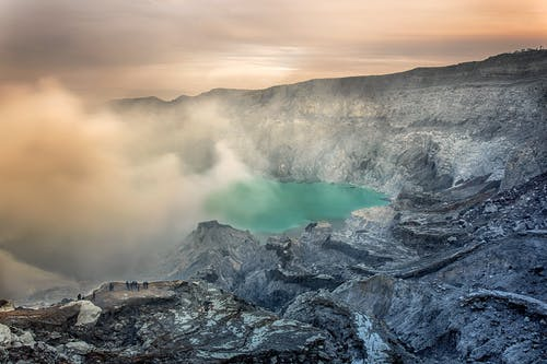 Photography of Volcano