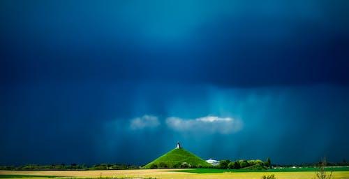 パノラマ, フィールド, 牧草地, 空の無料の写真素材