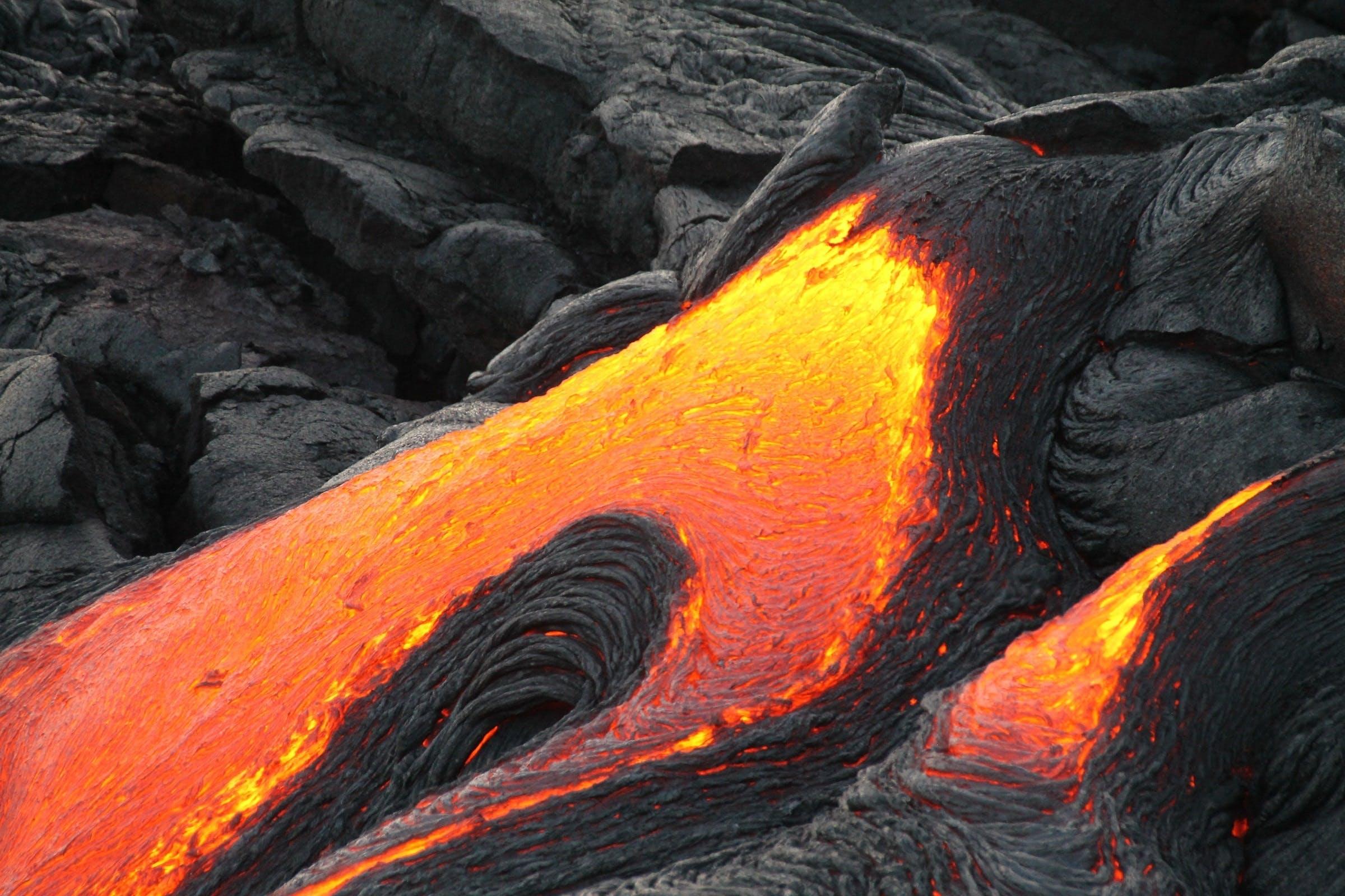 Kostenloses Stock Foto zu aktiv, asche, eruption, farbe