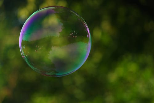 Focus Photography of a Bubble