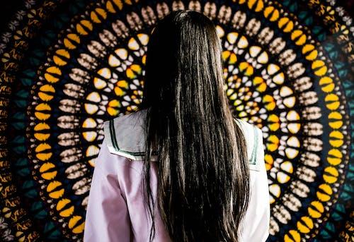 Immagine gratuita di arte, capelli lunghi, colore, luminoso