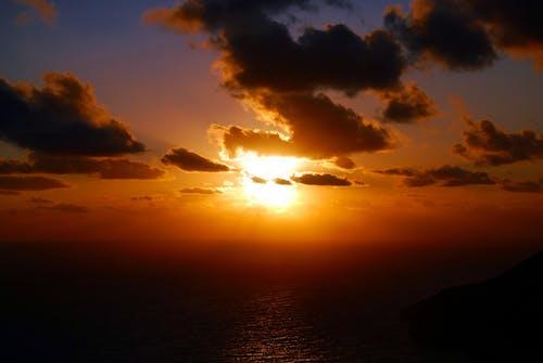 Fotobanka sbezplatnými fotkami na tému more, mraky, oblaky, oceán