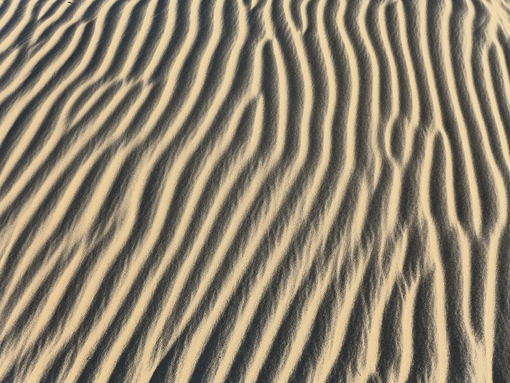 arena, árido, atractivo