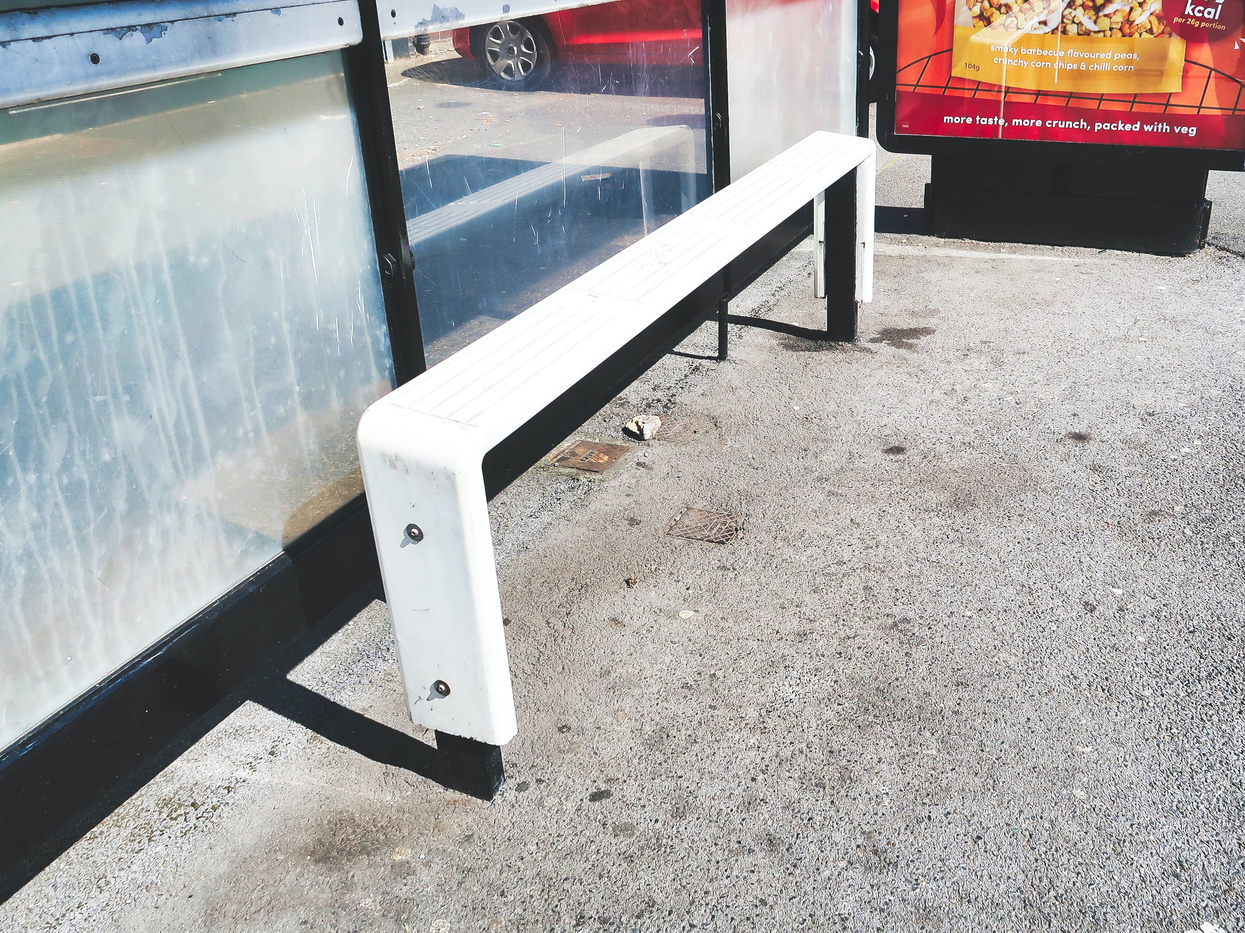 Free stock photo of bus, bus seat, bus stop, bus stop seat