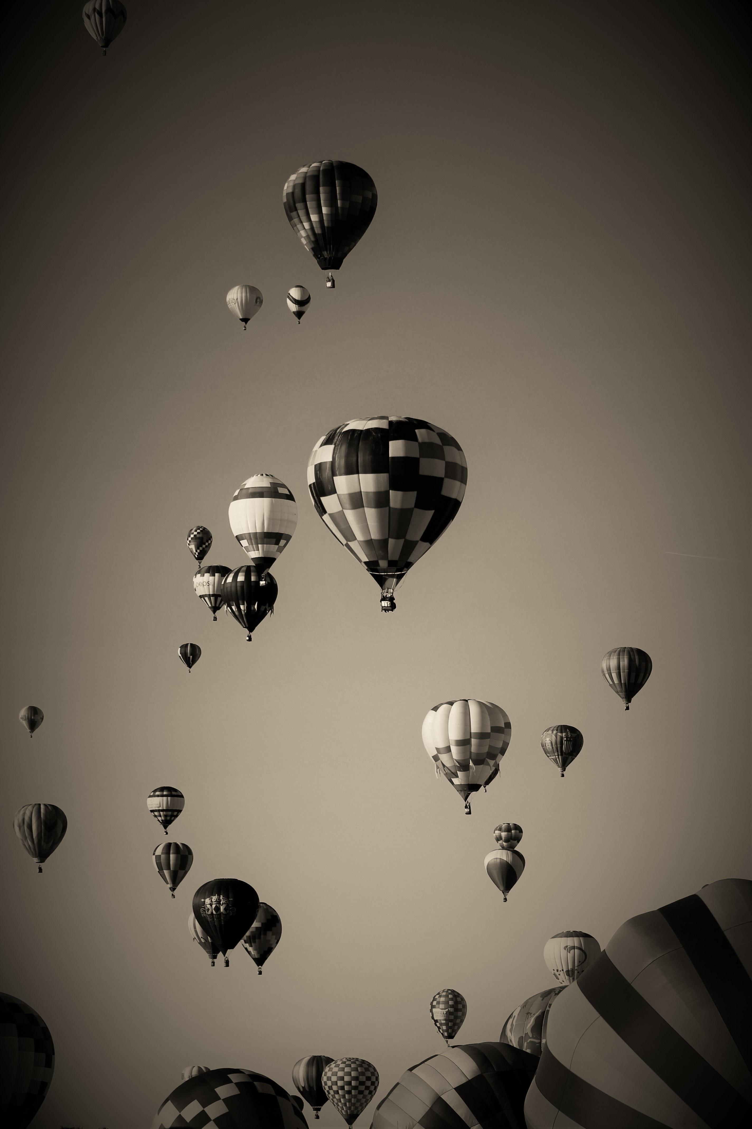 Ballon At Night 183 Free Stock Photo
