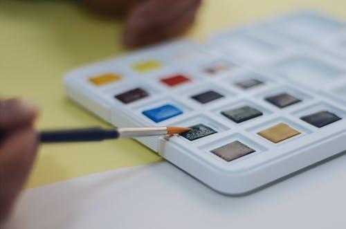 塗料, 水彩, 華美, 豐富多彩 的 免费素材照片