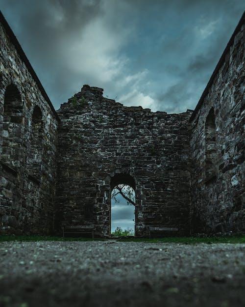 アーチ, ノルウェー, 廃墟, 跡地の無料の写真素材