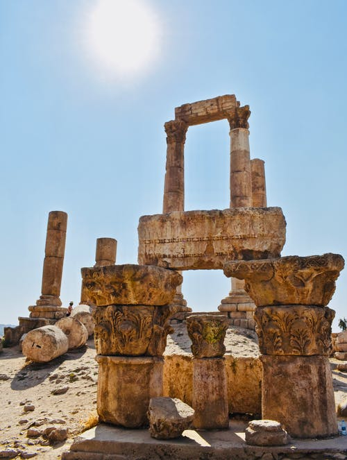 Fotos de stock gratuitas de antiguo, ciudadela de amman, columnas, histórico