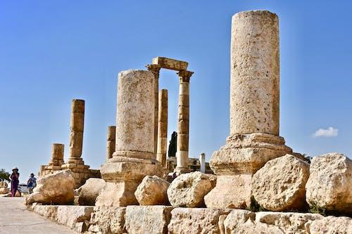 Fotos de stock gratuitas de antiguo, ciudadela de amman, columnas, destino de viaje