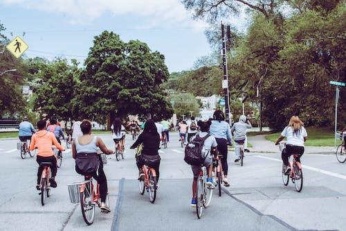 Foto d'estoc gratuïta de afroamericà, amor, bici