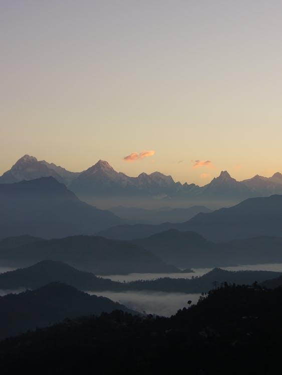 гора, краєвид, Природа