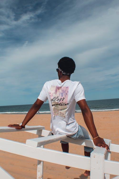 Δωρεάν στοκ φωτογραφιών με ακτή, άμμος, άνδρας, άντρας από αφρική