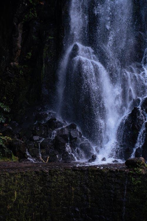 Foto stok gratis air terjun, alam, batu, riam