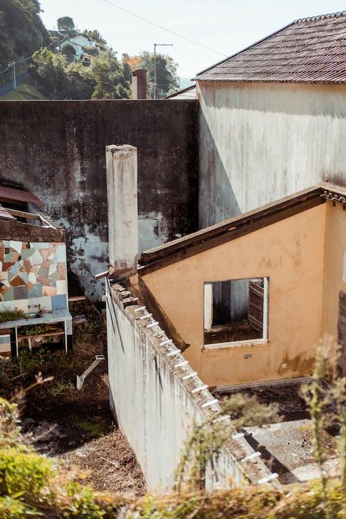 Základová fotografie zdarma na téma architektonický návrh, architektura, barvy, beton