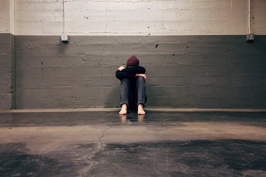 Free stock photo of man, person, wall, alone