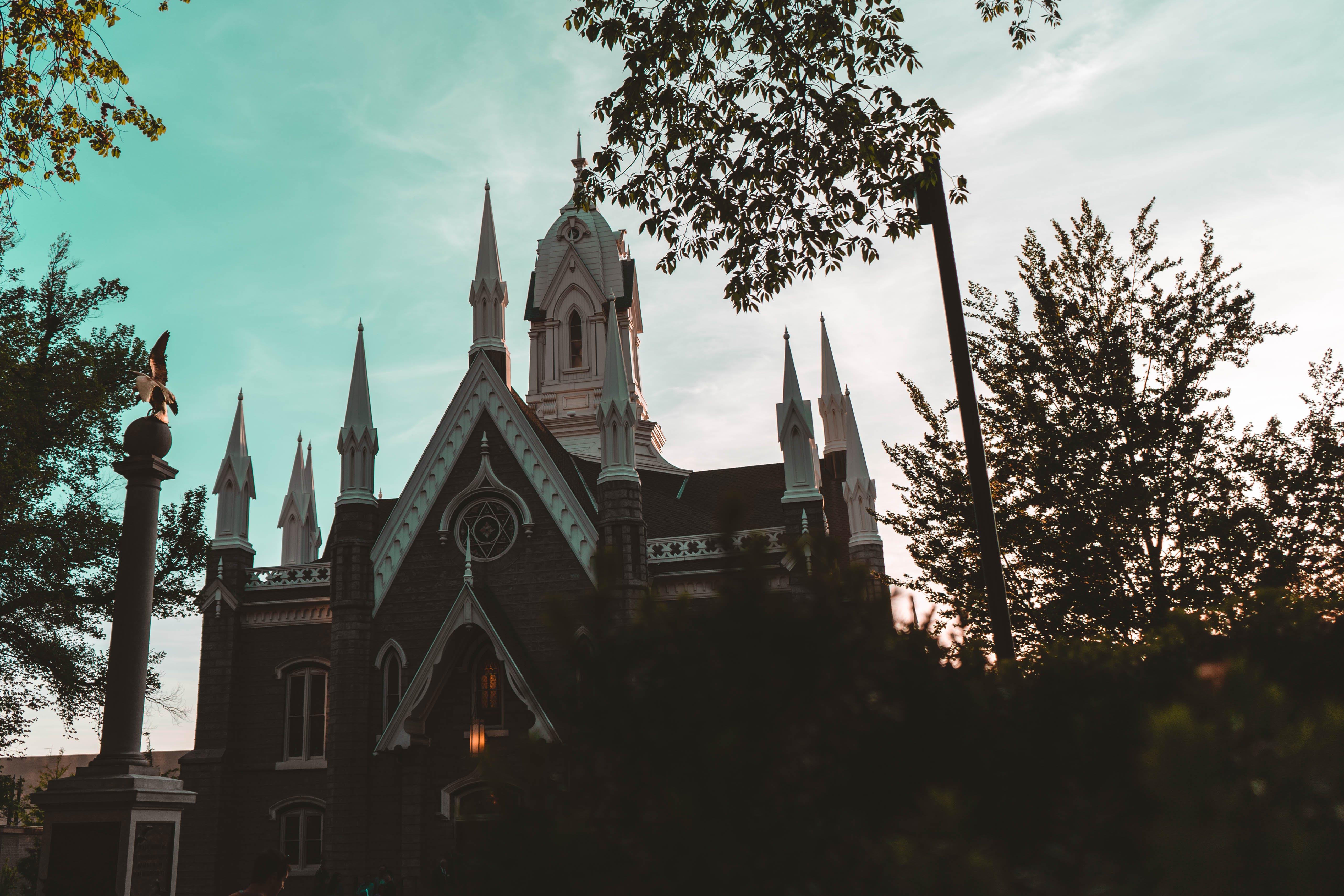 チャペル, 教会, 日没の無料の写真素材