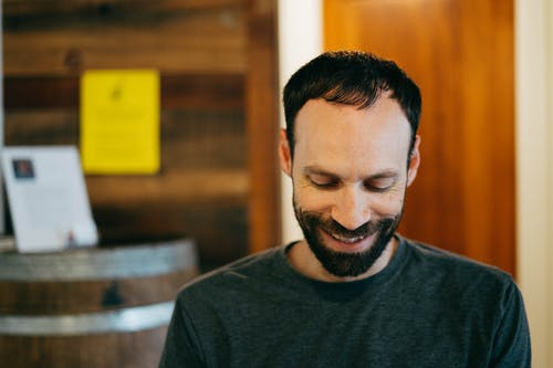 Free stock photo of candid, grin, man, smile