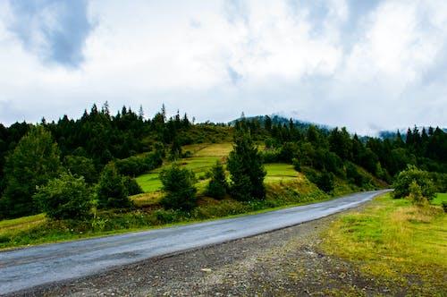 Foto profissional grátis de estrada vazia