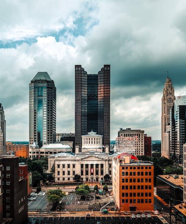 architektura, budynki, drapacz chmur