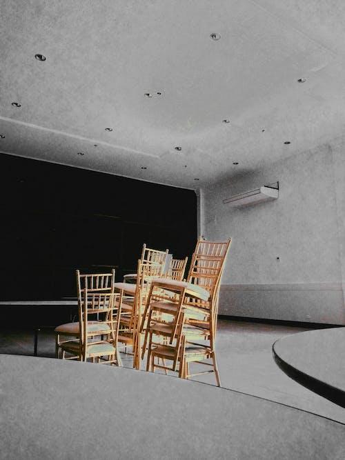 คลังภาพถ่ายฟรี ของ ซ้อนกัน, ห้อง, เก้าอี้, เฟอร์นิเจอร์