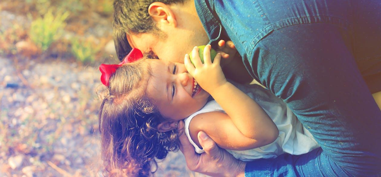 Man Kissing Girl