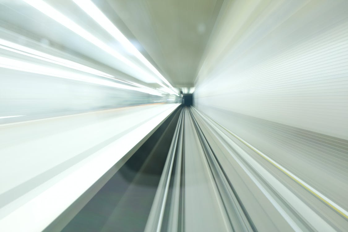 White Light in a Tunnel