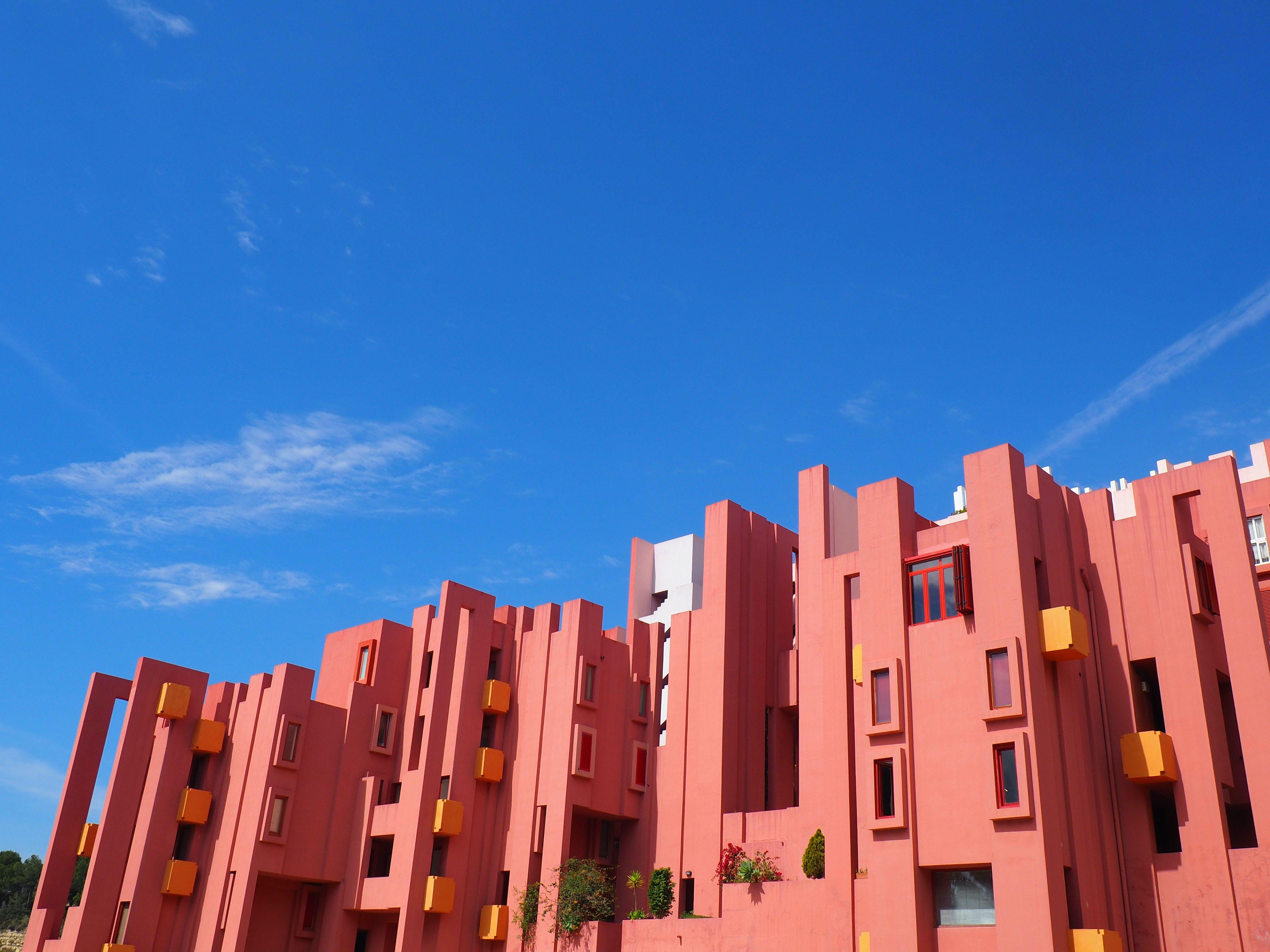 Δωρεάν στοκ φωτογραφιών με calpe, muralla roja, αρχιτεκτονική, Ισπανία