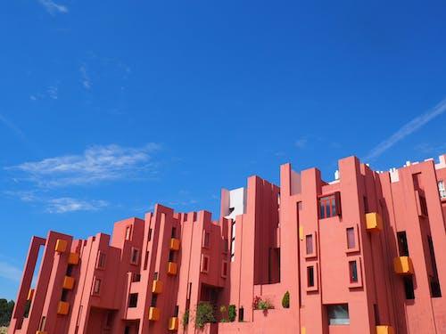 muralla roja, 卡尔佩, 卡尔普, 粉紅色 的 免费素材照片