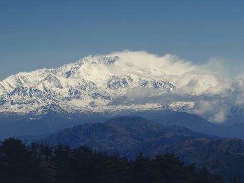 Imagine de stoc gratuită din formațiune noroasă, Himalaya, junglă și munte, kangchenjunga