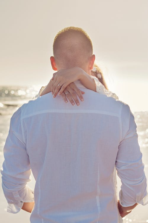 Základová fotografie zdarma na téma dvojice, láska, lidé, moře