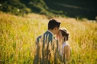 landscape, nature, couple