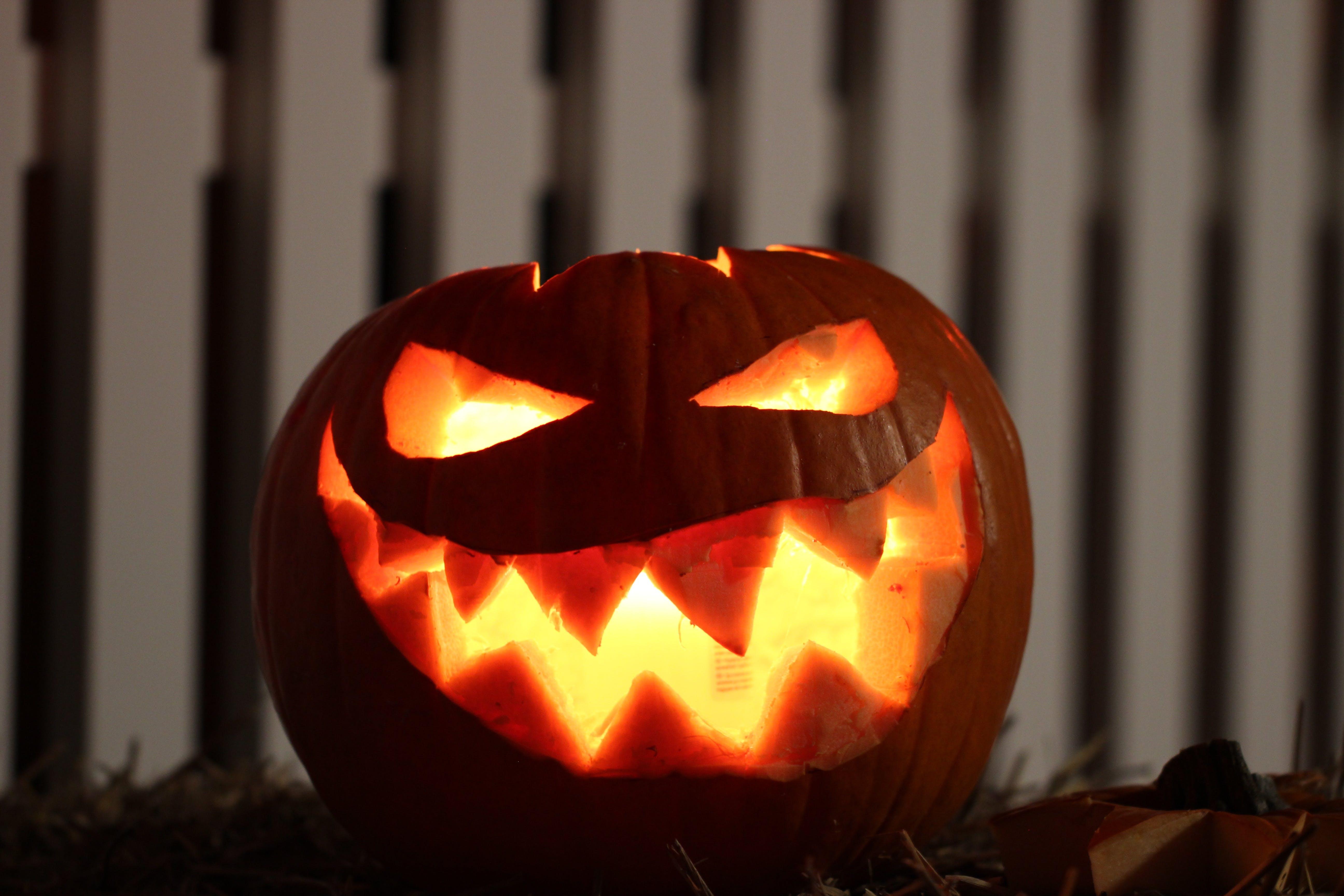 かぼちゃ, オレンジ, キャンドル, ジャックオーランタンの無料の写真素材