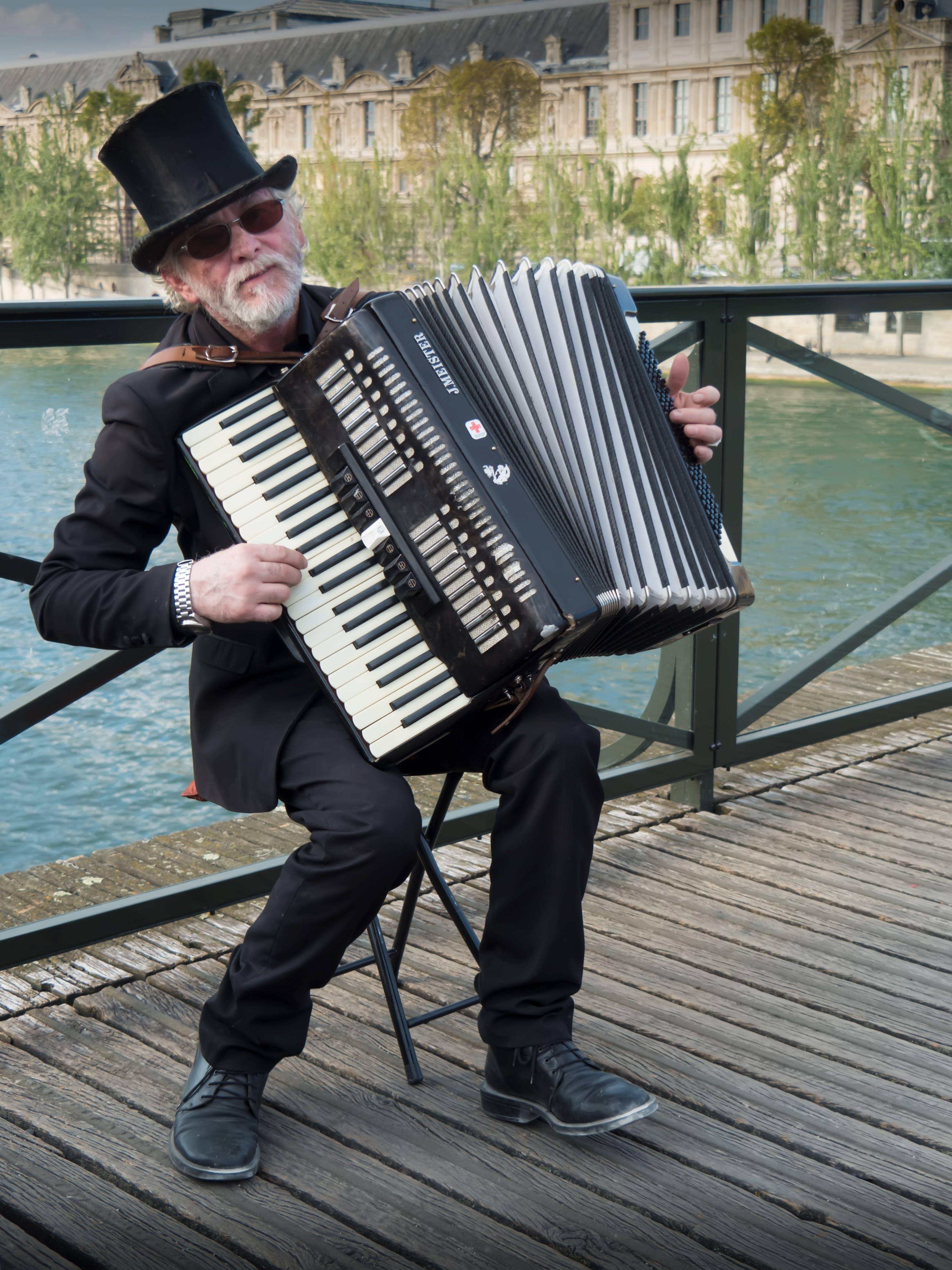 accordion, artist, city