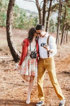 Free stock photo of landscape, fashion, person, couple