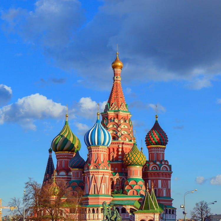 俄國, 十字架, 地標