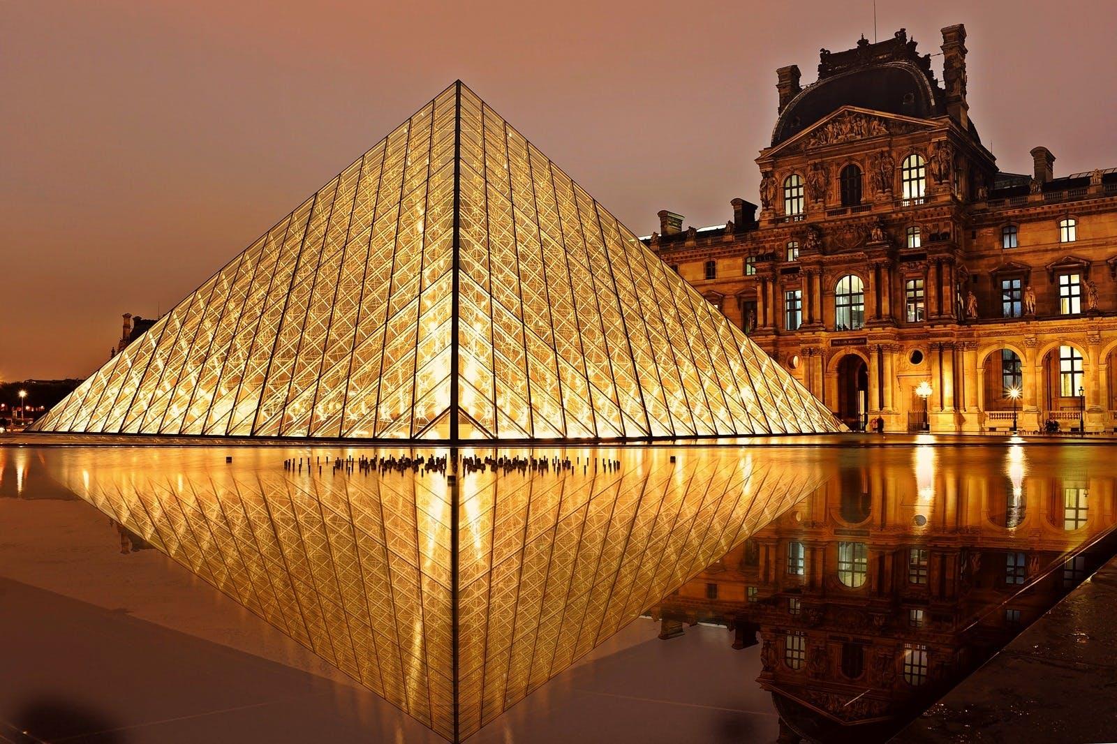 Gratis lagerfoto af aften, Frankrig, historisk, louvre