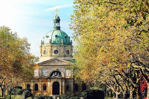 Foto stok gratis agama, Arsitektur, awan, Basilika