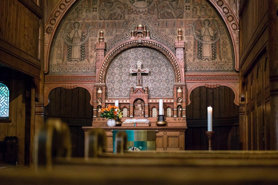 altare, archi, architettura