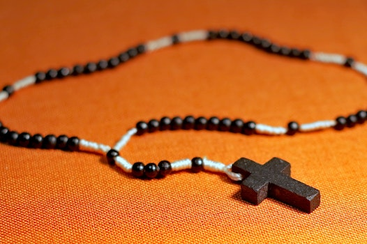 Free stock photo of cross, religion, jesus, beads
