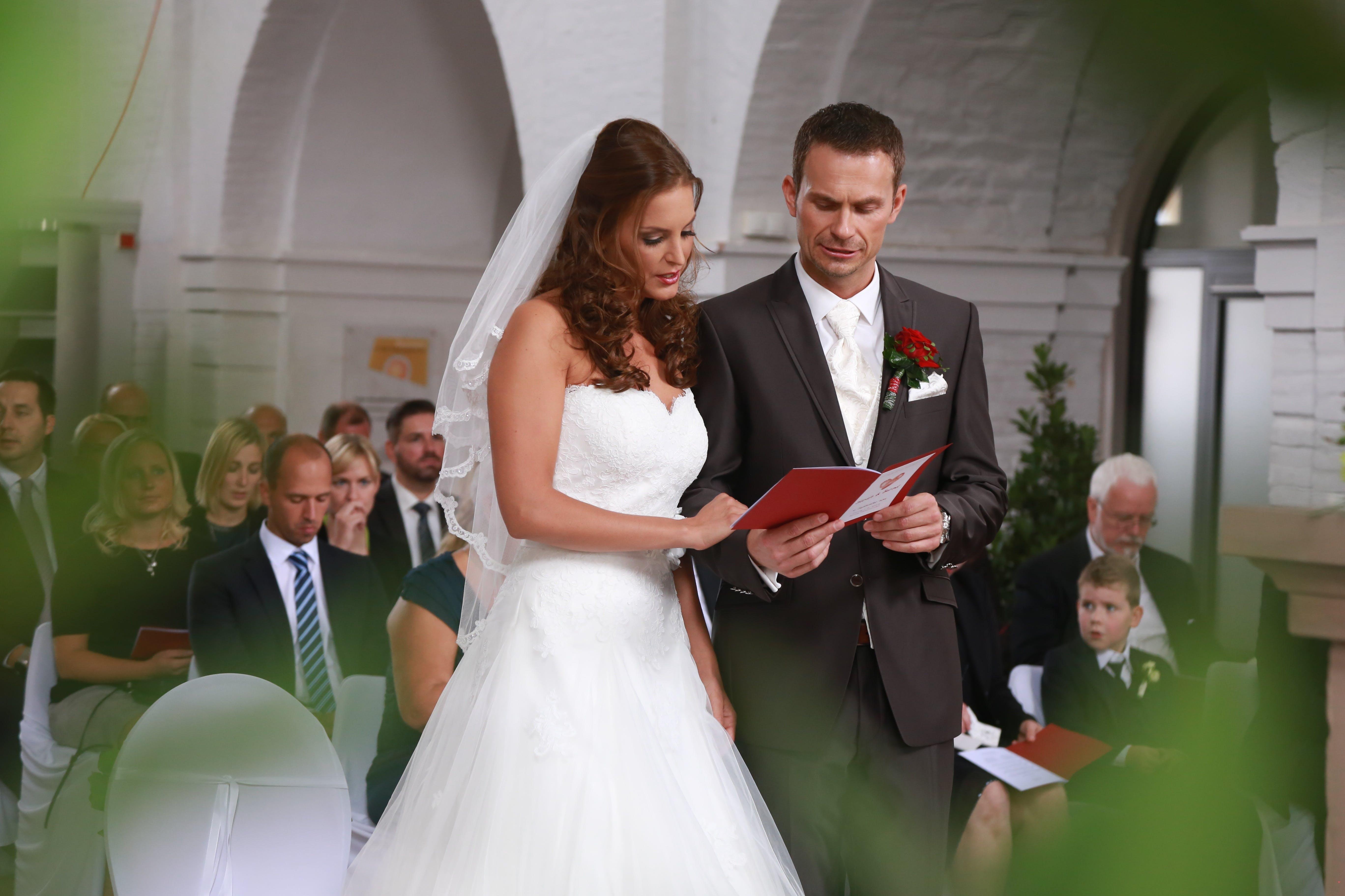 Free stock photo of adults, bride, celebration, ceremony