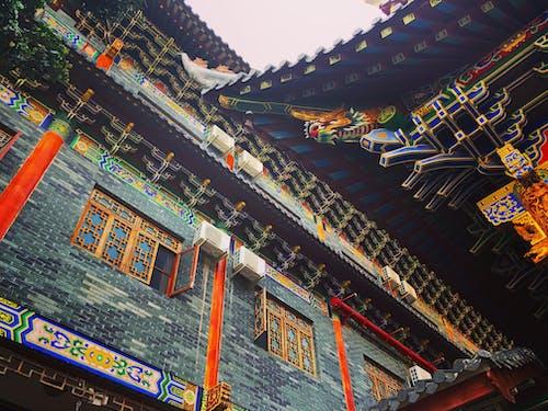 Imagine de stoc gratuită din artă, budism, China, construi