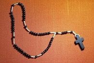 cross, jesus, beads