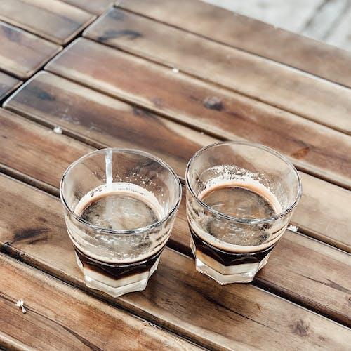 คลังภาพถ่ายฟรี ของ กาแฟ, ขนม, คู่, น้ำอัดลม