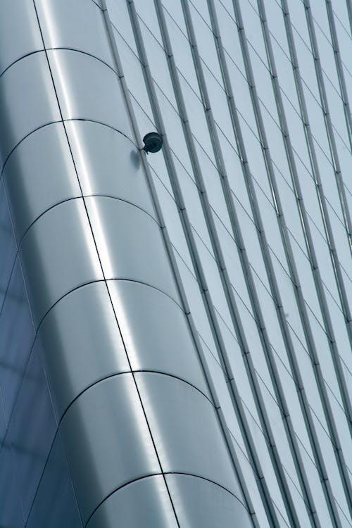 Foto d'estoc gratuïta de acer, arquitectura, càmera, cantonada
