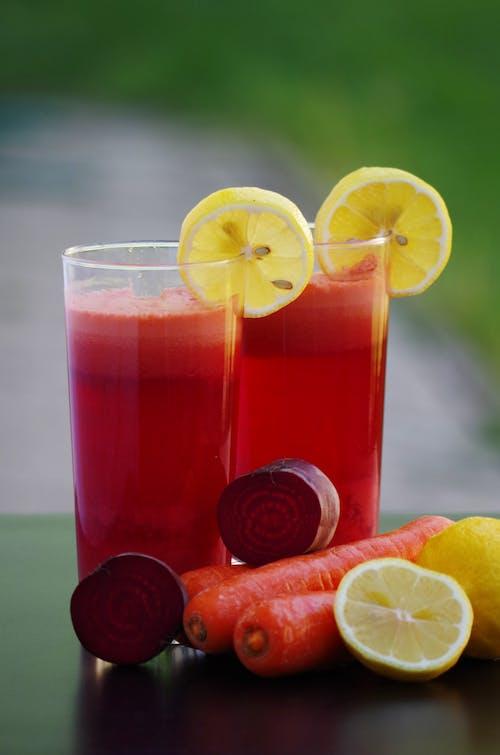 alkol, bardak, buz, çalı meyvesi içeren Ücretsiz stok fotoğraf