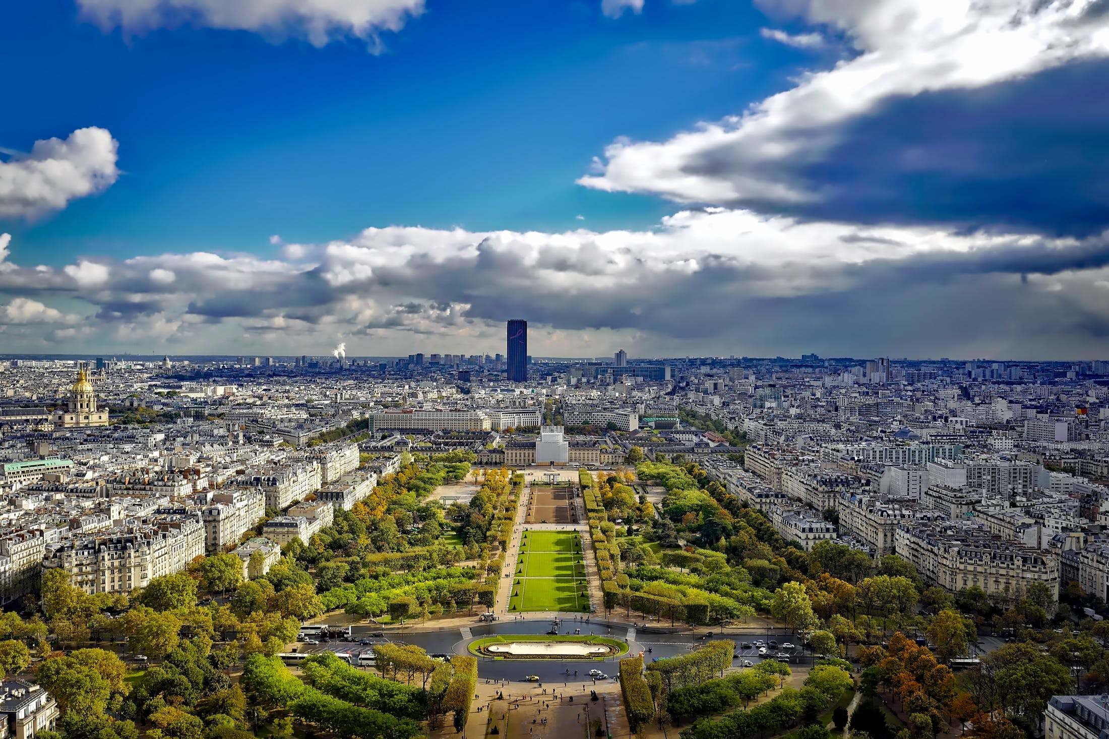 aerial view, architecture, attractions