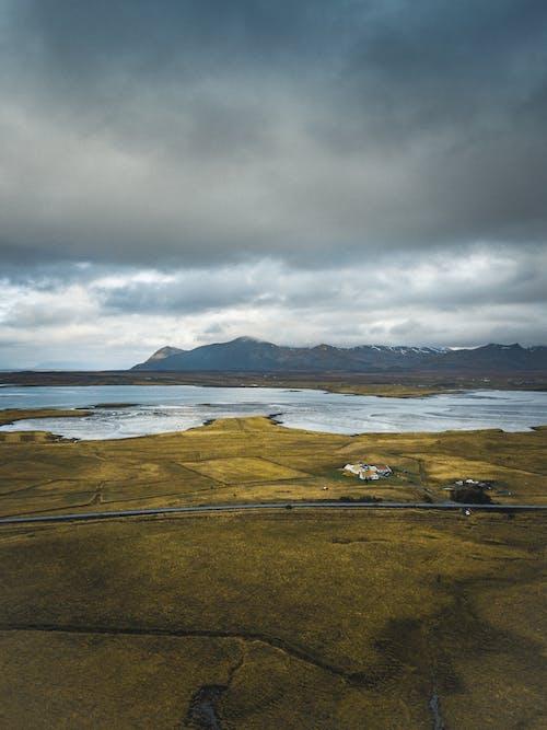 冰島, 天性, 山, 從上面 的 免费素材照片